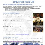 Kick Off Your School Year with GenUp!